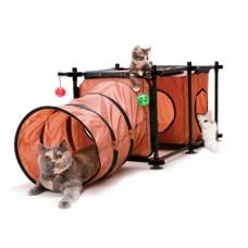 KITTY CITY «Лабиринт» Игровой комплекс для кошек 44Х123Х45