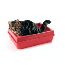 SAVIC Туалет со складным бортиком для кошки (под заказ)