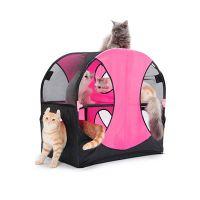 KITTY CITY «Колесо обозрения» Игровой комплекс для кошек 66Х66Х43