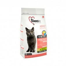 1st CHOICE VITALITY с курицей и рисом для взрослых домашних кошек