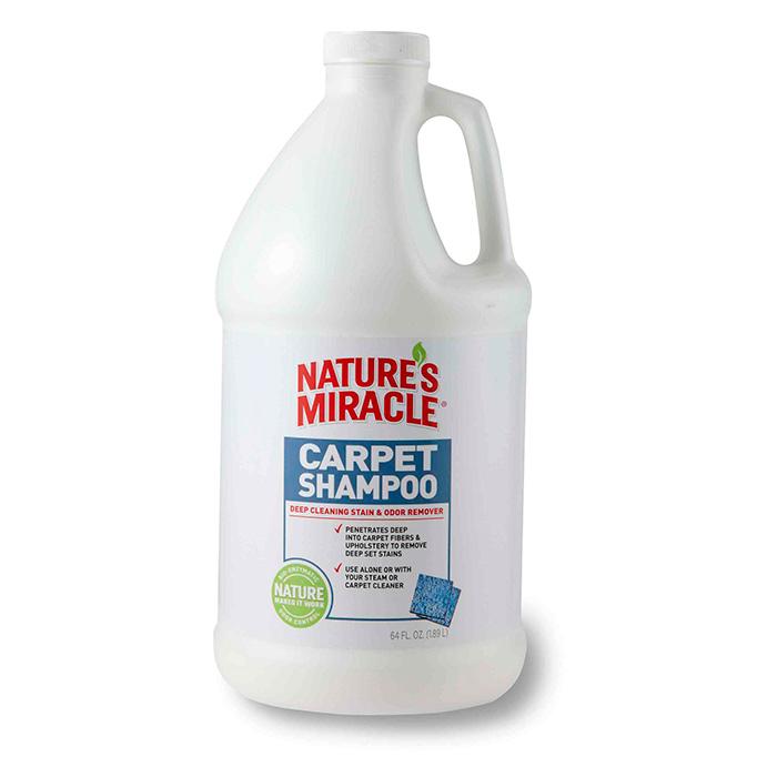 8IN1 NATURE'S MIRACLE Carpet Shampoo моющее средство для ковров и мягкой мебели 1.9л