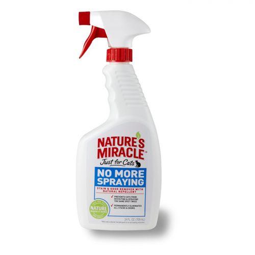 8IN1 NATURE'S MIRACLE JFC NO MORE SPRAYING антигадин для кошек спрей 710мл