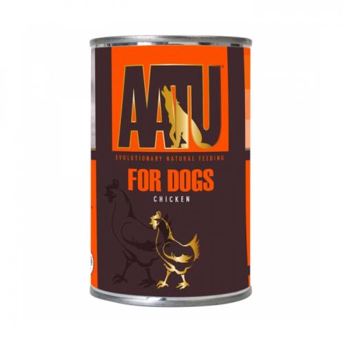 AATU С КУРИЦЕЙ консервы для собак 400г