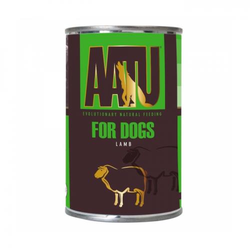 AATU С ЯГНЕНКОМ консервы для собак 400г