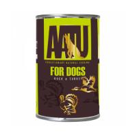 AATU DUCK&TURKEY С УТКОЙ И ИНДЕЙКОЙ консервы для собак 400г
