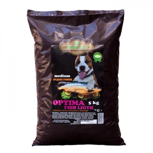 ACARI CIAR OPTIMA FISH СРЕДНИЕ ГРАНУЛЫ с рыбой гипоаллергенный для взрослых собак
