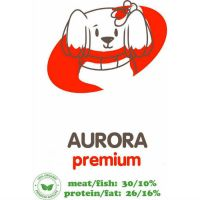 АКАРИ КИАР AURORA СРЕДНИЕ ГРАНУЛЫ с мясным фаршем и субпродуктами для взрослых собак