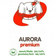 АКАРИ КИАР Aurora с мясным фаршем и субпродуктами сухой корм для взрослых собак