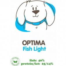 АКАРИ КИАР Optima Fish с рыбой сухой гипоаллергенный корм для взрослых собак