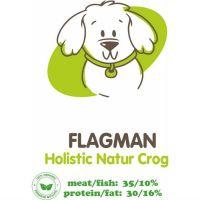 АКАРИ КИАР FLAGMAN HOLISTIC СРЕДНИЕ ГРАНУЛЫ со свежей говядиной и тыквой для взрослых собак