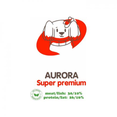 ACARI CIAR AURORA МЕЛКИЕ ГРАНУЛЫ с мясным фаршем и субпродуктами для взрослых собак