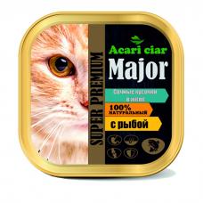 ACARI CIAR с рыбой консервы для кошек ламистер 100г