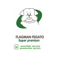 АКАРИ КИАР FLAGMAN FEGATO МЕЛКИЕ ГРАНУЛЫ с печенью и рисом для взрослых собак