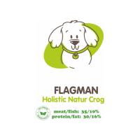 АКАРИ КИАР FLAGMAN HOLISTIC МЕЛКИЕ ГРАНУЛЫ со свежей говядиной и тыквой для взрослых собак