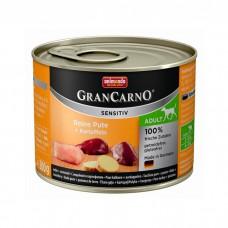 ANIMONDA GRAN CARNO SENSITIV c индейкой и картофелем для собак 200 г