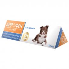 ДИРОФЕН ПАСТА 20 антигельминтик для щенков 6мл