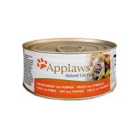APPLAWS CHICKEN BREAST&PUMPKIN с куриной грудкой и тыквой консервы для кошек