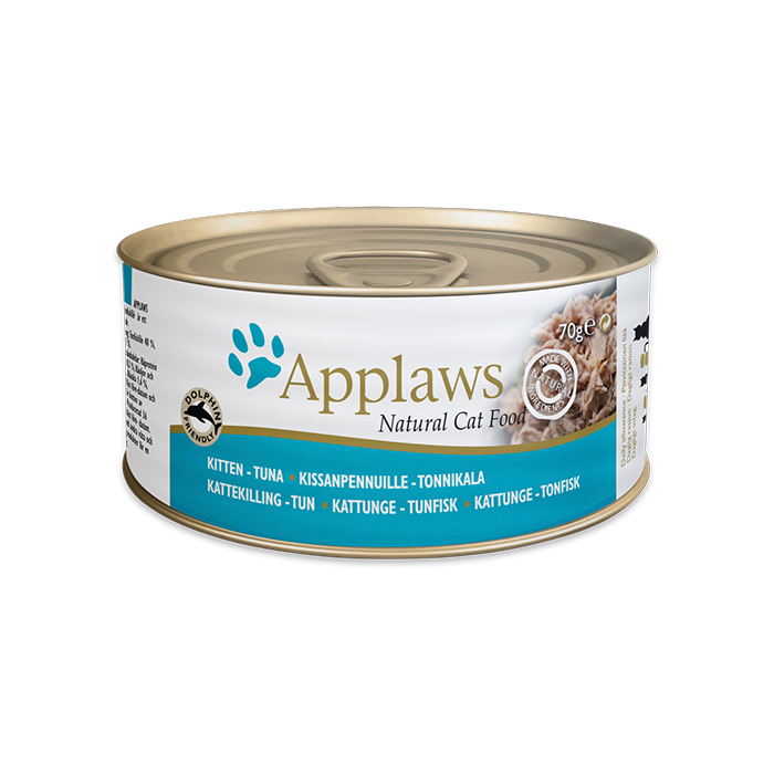 APPLAWS KITTEN TUNA с тунцом консервы для котят