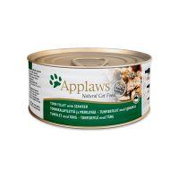 APPLAWS TUNA FILLET&SEAWEED с филе тунца и морской капустой консервы для кошек