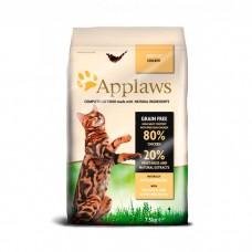 APPLAWS беззерновой с курицей и овощами для взрослых кошек 80/20