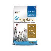 APPLAWS беззерновой с курицей и овощами для котят 80/20