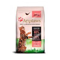 APPLAWS беззерновой с курицей, лососем и овощами для взрослых кошек 80/20