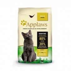 APPLAWS беззерновой с курицей и овощами для пожилых кошек 80/20