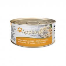 APPLAWS CHICKEN BREAST&CHEESE с куриной грудкой и сыром консервы для кошек