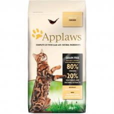 APPLAWS беззерновой с курицей и овощами для взрослых кошек