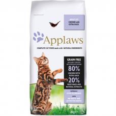 APPLAWS беззерновой с уткой и курицей для взрослых кошек