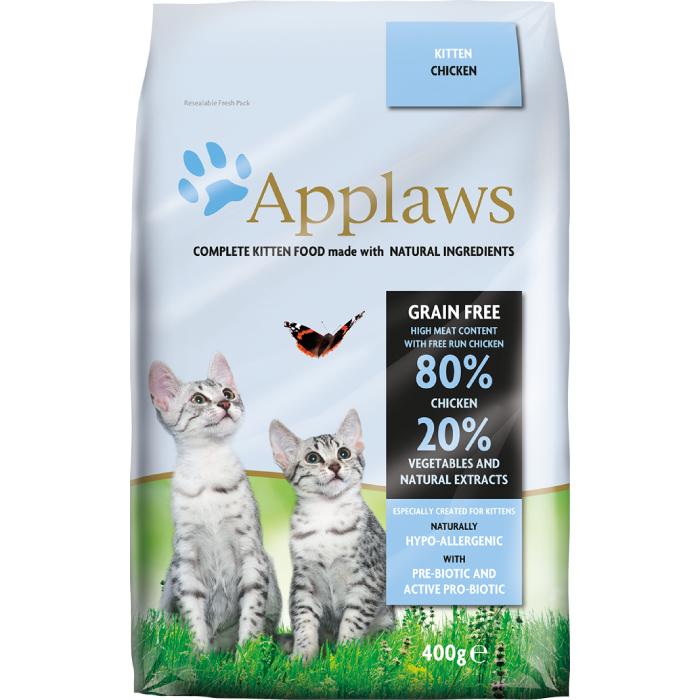 Фото - APPLAWS беззерновой с курицей и овощами для котят, беременных и кормящих кошек