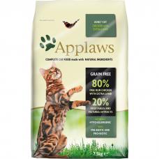 APPLAWS беззерновой с ягненком и курицей для взрослых кошек