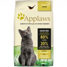 APPLAWS беззерновой с курицей и овощами для пожилых кошек