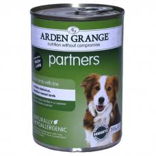 ARDEN GRANGE PARTNERS с ягненком, рисом и овощами консервы для собак 395г