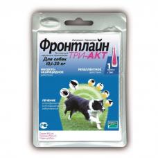 ФРОНТЛАЙН ТРИ-АКТ от блох, клещей и комаров капли для собак 10.1-20кг