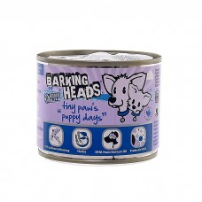 BARKING HEADS PUPPY DAYS ЩЕНЯЧЬИ ДЕНЬКИ с лососем консервы для щенков мелких пород