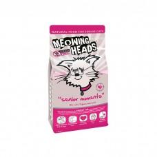 """MEOWING HEADS SENIOR MOMENTS """"Мудрые года"""" с лососем и яйцом для кошек старше 7 лет"""