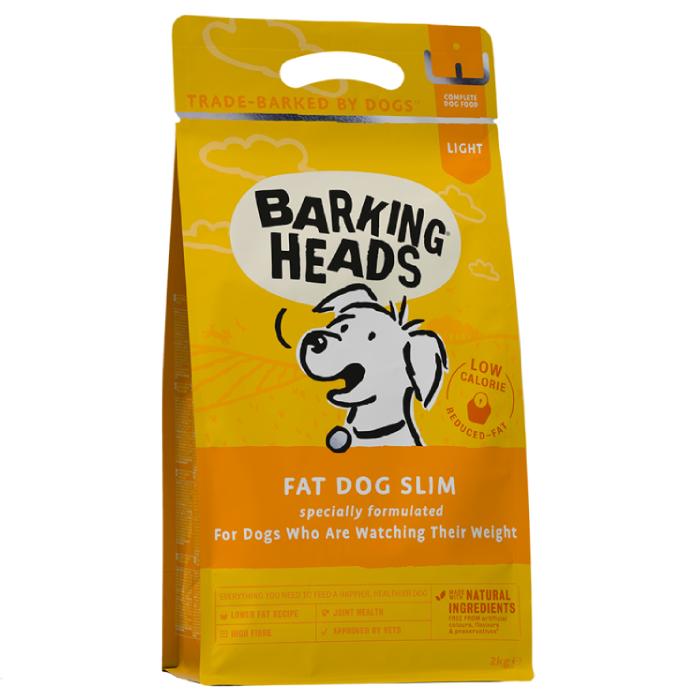 Фото - BARKING HEADS ХУДЕЮЩИЙ ТОЛСТЯЧОК для собак с избыточным весом или чувствительным пищеварением
