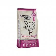 MEOWING HEADS KITTEN'S DELIGHT «Восторг котенка» курицей и рисом для котят