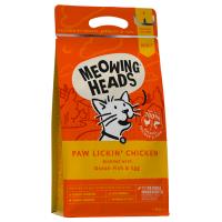 MEOWING HEADS PAW LICKIN' CHICKEN КУРИНОЕ НАСЛАЖДЕНИЕ с курицей и рисом для взрослых кошек