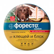 BAYER ФОРЕСТО инсектоакарицидный ошейник для собак весом свыше 8кг