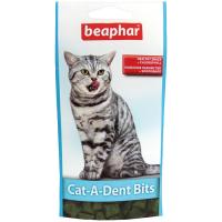 BEAPHAR 11406 CAT-A-DENT BITS подушечки для чистки зубов кошек 35г