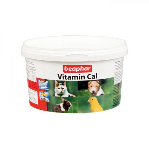BEAPHAR 12410 VITAMIN CAL кормовая добавка для домашних животных и птиц 250г