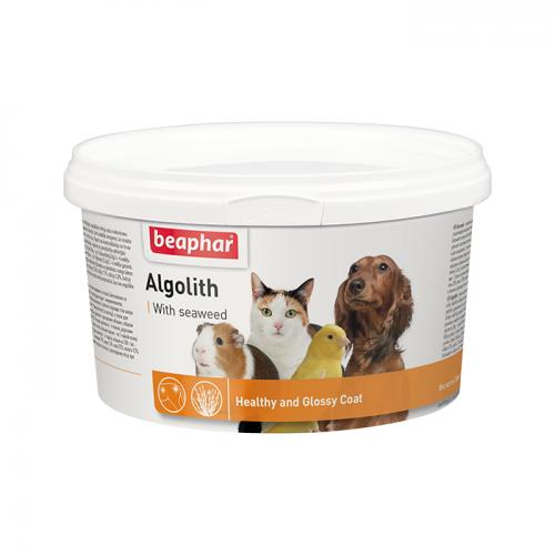 BEAPHAR 12494 ALGOLITH кормовая добавка для улучшения состояния и цвета шерсти 250г
