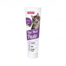BEAPHAR 12958 DUO MALT PASTE паста для выведения шерсти для кошек 100г