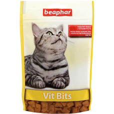 BEAPHAR 12625 VIT BITS подушечки с мультивитаминной пастой для кошек 35г