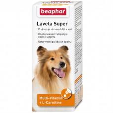 BEAPHAR 12554 LAVETA SUPER витамины для улучшения качества шерсти собак 50мл