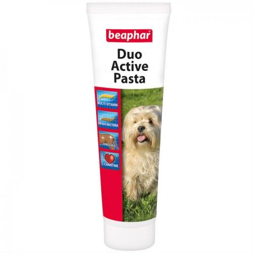 BEAPHAR 12960 DUO ACTIVE PASTE мультивитаминная паста для собак 100г