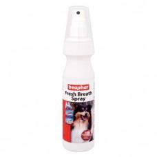 BEAPHAR FRESH BREATH SPRAY спрей для чистки зубов и освежения дыхания у собак
