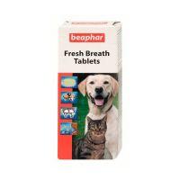 BEAPHAR 13250 FRESH BREATH TABLETS таблетки от неприятного запаха 40шт
